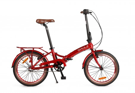 SHULZ GOA V velosipēds – sarkans