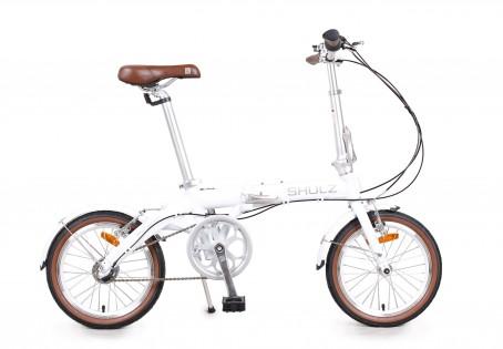 SHULZ Hopper 3 velosipēds – balts