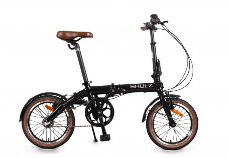 SHULZ Hopper 3 velosipēds – melns