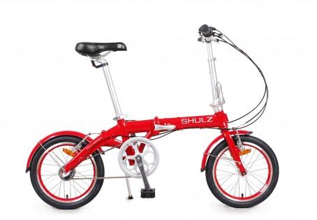 SHULZ Hopper 3 velosipēds – sarkans