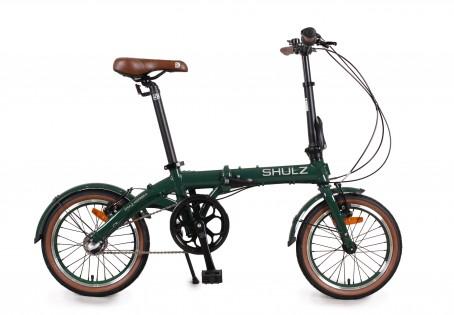 SHULZ Hopper 3 velosipēds – tumši zaļš