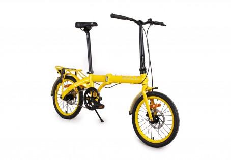 SHULZ Hopper XL velosipēds – dzeltens