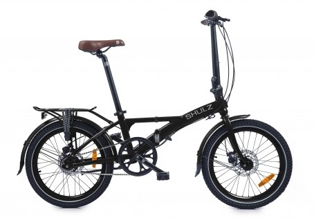SHULZ Lentus velosipēds – melns
