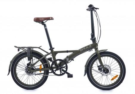 SHULZ Lentus velosipēds – tumši zaļš