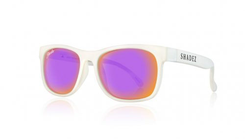 Shadez VIP saulesbrilles 3-7 gadi – balts/ violets