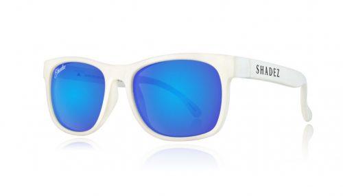 Shadez VIP saulesbrilles 3-7 gadi – balts/ zils