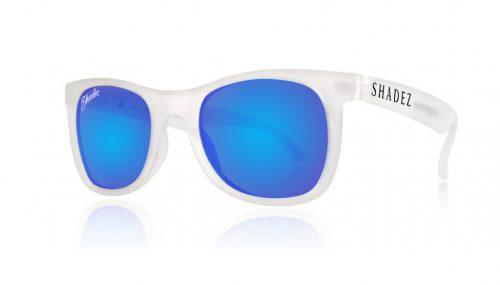 Shadez VIP saulesbrilles 3-7 gadi – caurspīdīgs/zils