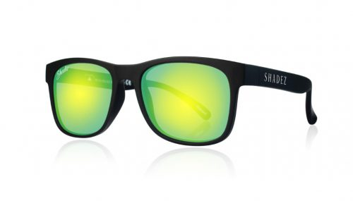 Shadez VIP saulesbrilles 3-7 gadi – melns/dzeltens