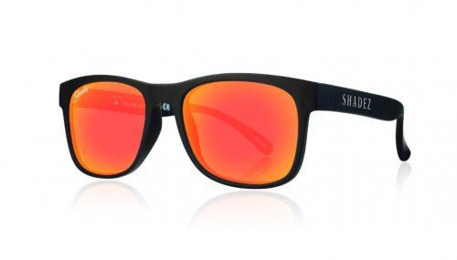 Shadez VIP saulesbrilles 3-7 gadi – melns/sarkans