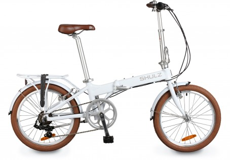 Shulz Easy velosipēds – balts