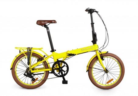 Shulz Easy velosipēds – dzeltens