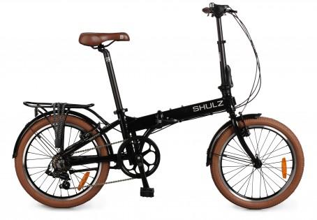 Shulz Easy velosipēds – melns