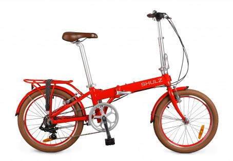 Shulz Easy velosipēds – sarkans