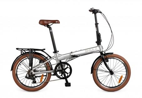 Shulz Easy velosipēds – sudrabs