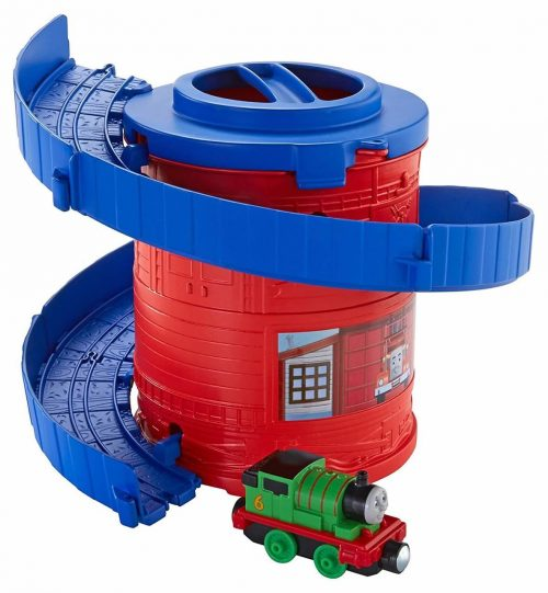 Thomas & Friends  sliežu + vilciena komplekts Thomas Adventure Spiral Tower Tracks