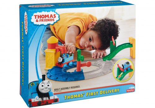 Thomas & Friends sliedes+vilcieniņš  Thomas' First Delivery
