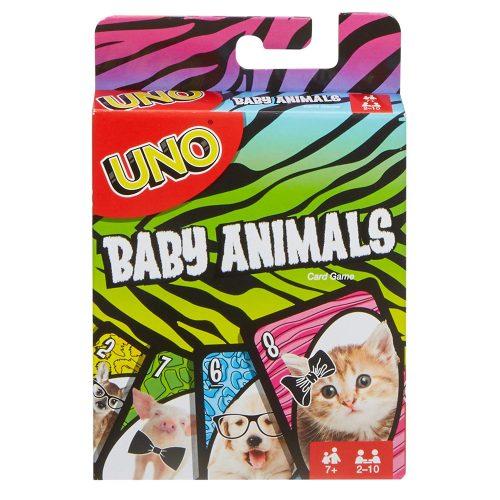 UNO Baby Animal kāršu spēle
