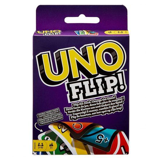 UNO FLIP kāršu spēle