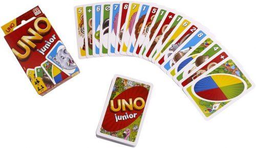 Uno Junior kāršu spēle bērniem