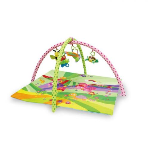 LORELLI Aktivitātes paklājs FAIRY TALES GREEN 89x84cm 1030033