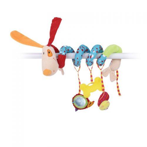 LORELLI Rotaļlieta spirāle DOG 0m+, 10191210002
