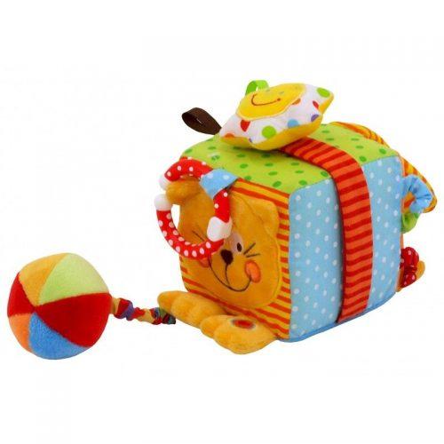 BABY MIX Plīša rotaļlieta ar grabuli, TE-8561-10C