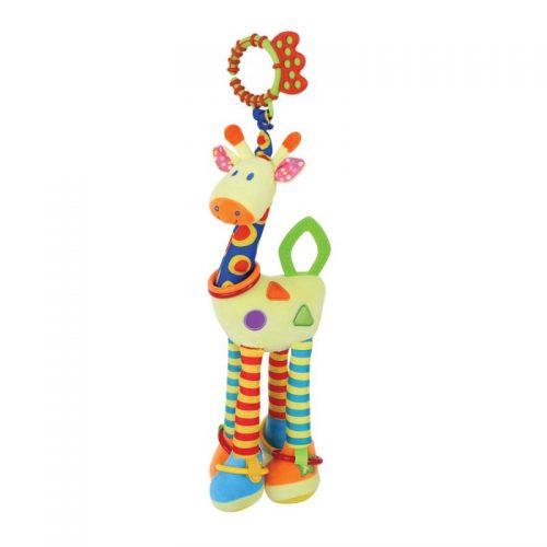 LORELLI Plīša rotaļlieta GIRAFFE, 1019115