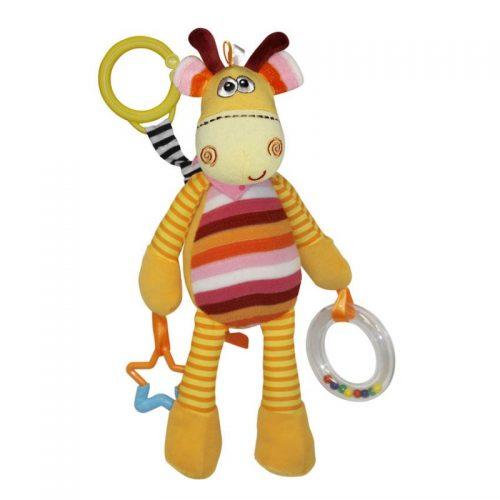 LORELLI Plīša rotaļlieta COLORFUL GIRAFFE, 10190981302
