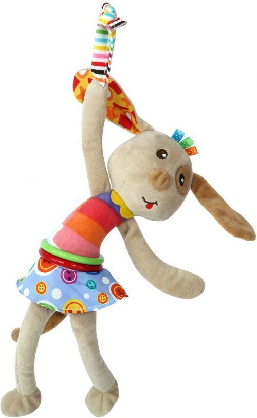 LORELLI Plīša rotaļlieta ar vibrāciju DOG 0m+, 10191200003