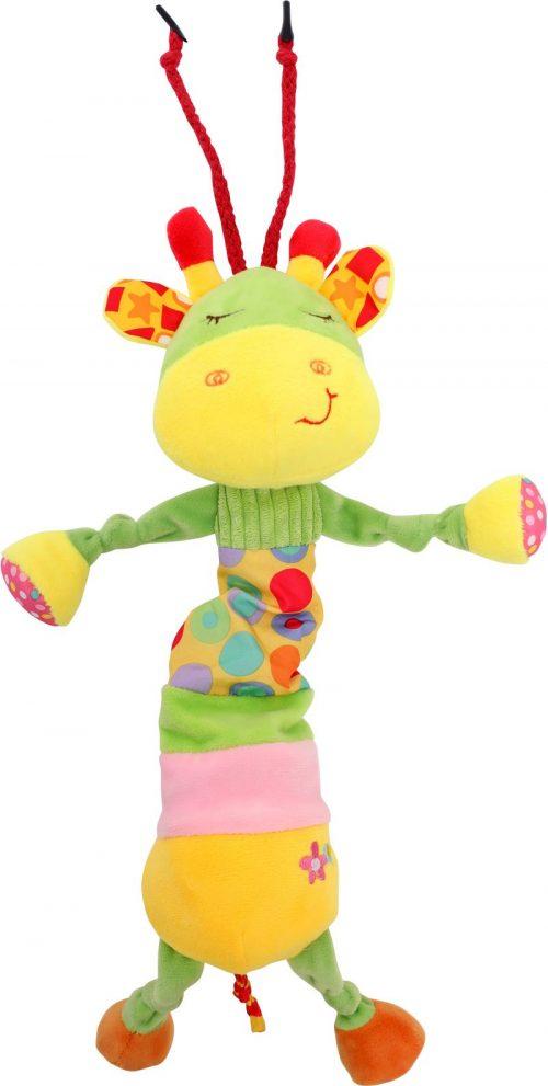 LORELLI Muzikālā plīša rotaļlieta GIRAFFE 0m+, 10191190002