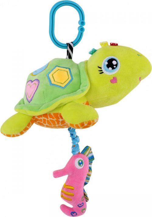 LORELLI Muzikālā plīša rotaļlieta TURTLE 0m+, 10191250003