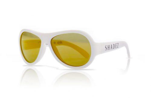 shadez saulesbrilles bērniem 0-3 gadi – balts