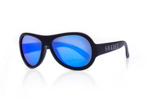 shadez saulesbrilles bērniem 3-7 gadi – melns/zils