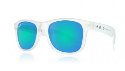shadez saulesbrilles jauniešiem un pieaugušajiem – caurspīdīgs/okeāna zils