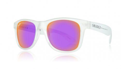 shadez saulesbrilles jauniešiem un pieaugušajiem – caurspīdīgs/violets