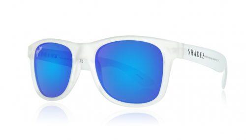 shadez saulesbrilles jauniešiem un pieaugušajiem – caurspīdīgs/zils