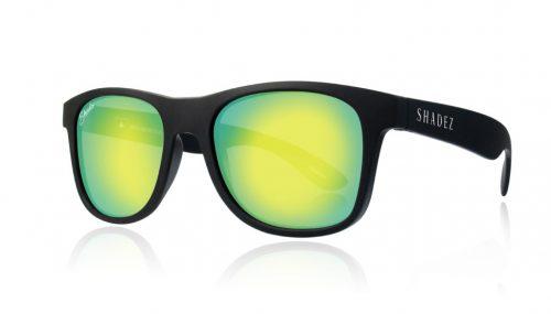 shadez saulesbrilles jauniešiem un pieaugušajiem – melns/dzeltens