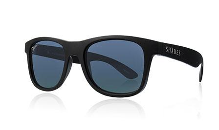 shadez saulesbrilles jauniešiem un pieaugušajiem – melns/melns