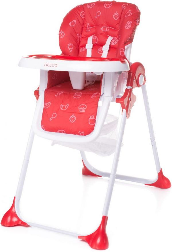 4BABY DECCO barošanas krēsls RED