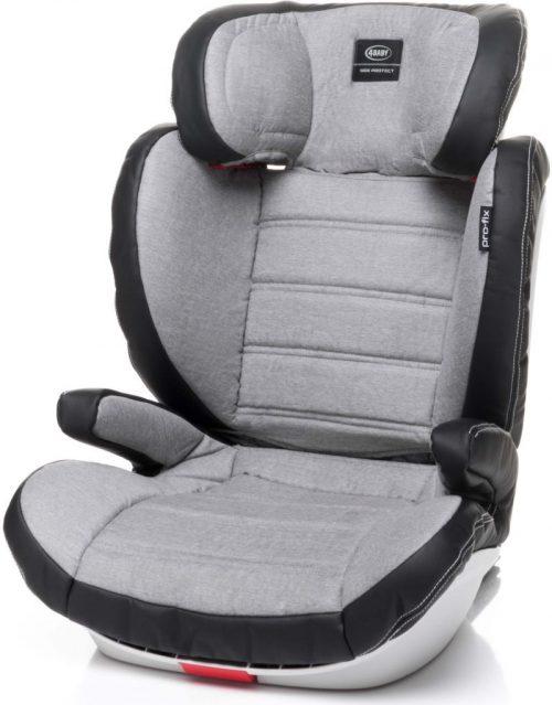 4BABY PRO-FIX 15-36kg Bērnu autosēdeklis Light Grey
