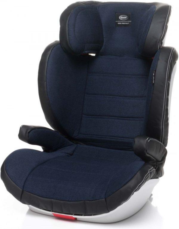4BABY PRO-FIX 15-36kg Bērnu autosēdeklis Navy Blue