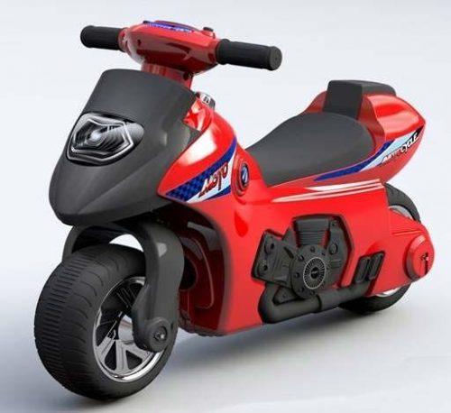 BABY MIX Bērnu Stumjams motocikls UR-HZ617 SARKANS