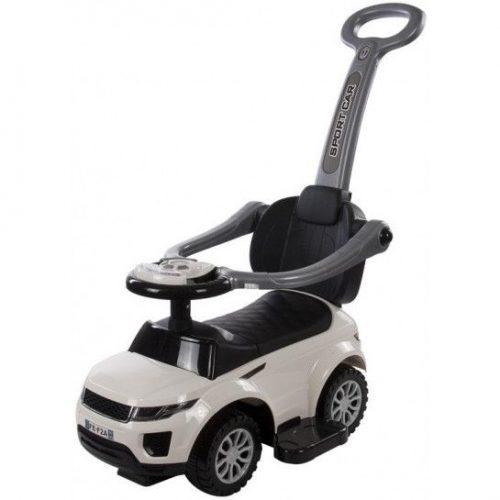 BABY MIX HZ614 Bērnu stumjamā mašīna – balts