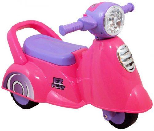 BABY MIX SKUTER UR-HZ605, Bērnu stumjamā mašīna, rozā