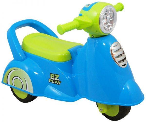 BABY MIX SKUTER UR-HZ605 Bērnu stumjamā mašīna, zils