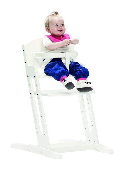 BABYDAN DanChair barošanas krēsls, balts