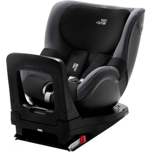 BRITAX autokrēsl DUALFIX M i-SIZE Black Ash  360º ( augums no 61 cm – 105 cm )