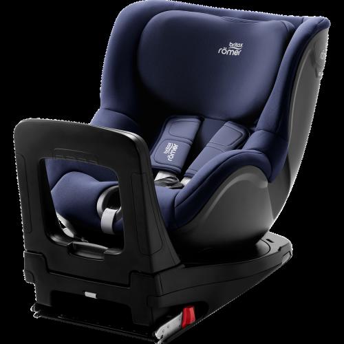 BRITAX autokrēsls DUALFIX M i-SIZE Moonlight Blue 360º ( augums no 61 cm – 105 cm )