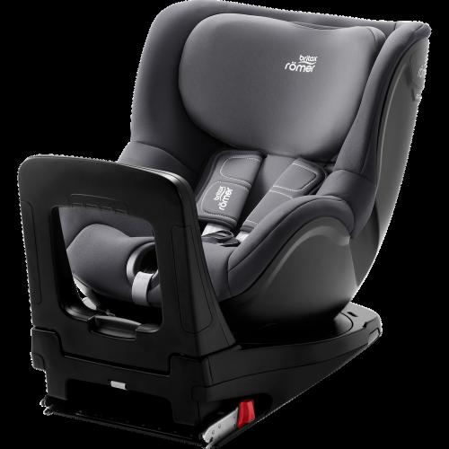 BRITAX autokrēsls DUALFIX M i-SIZE Storm grey 360º ( augums no 61 cm – 105 cm )