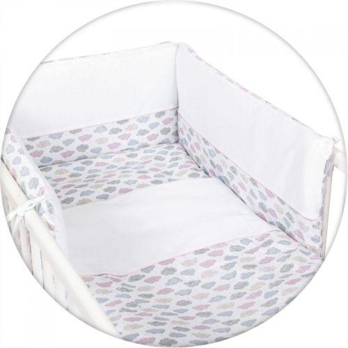 CEBABABY gultas veļas komplekts no 3 daļām 135х100cm Clouds
